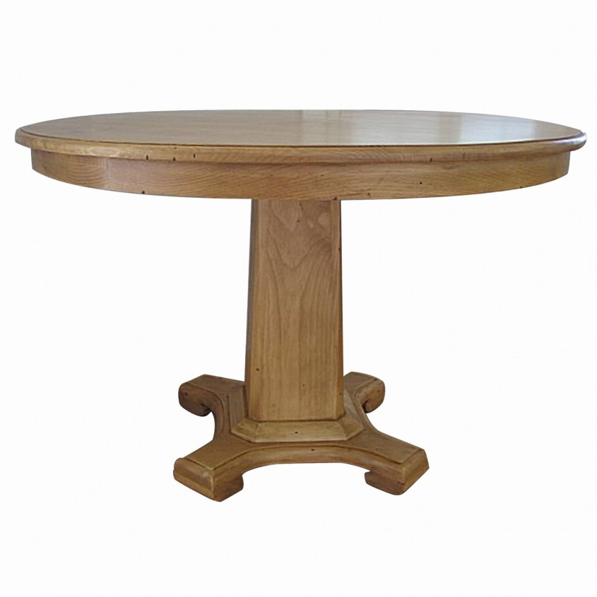 Chic Pedestal Dining Table And Chair For Dining Room With Round Pedestal Dining Table