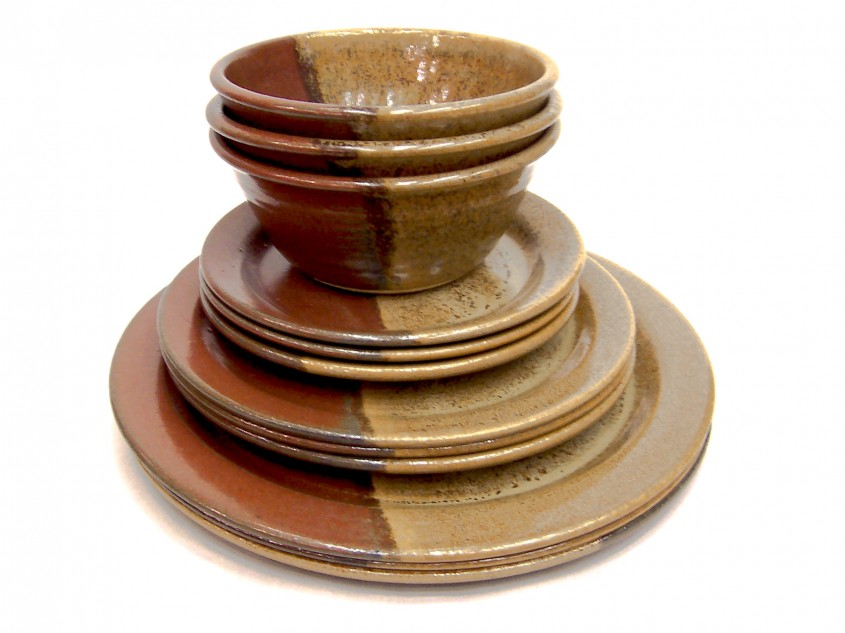 Chic Stoneware Dinnerware For Kitchen And Dining Sets With Stoneware Dinnerware Sets