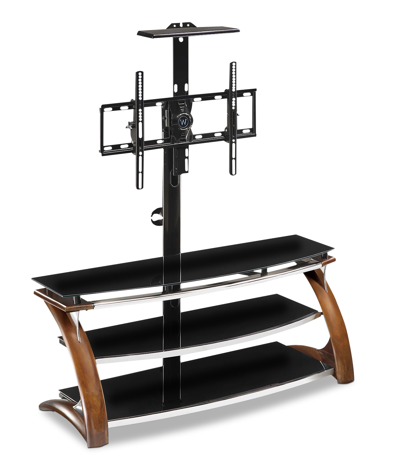 Classy whalen tv stand for furniture accessories design with whalen 3-in-1 tv stand