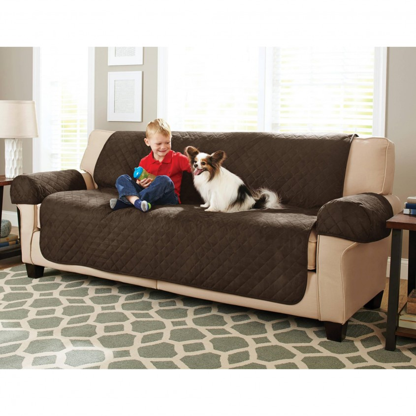 Comfy Couch Covers For Sectionals  For Living Room With Furniture Covers For Sectionals