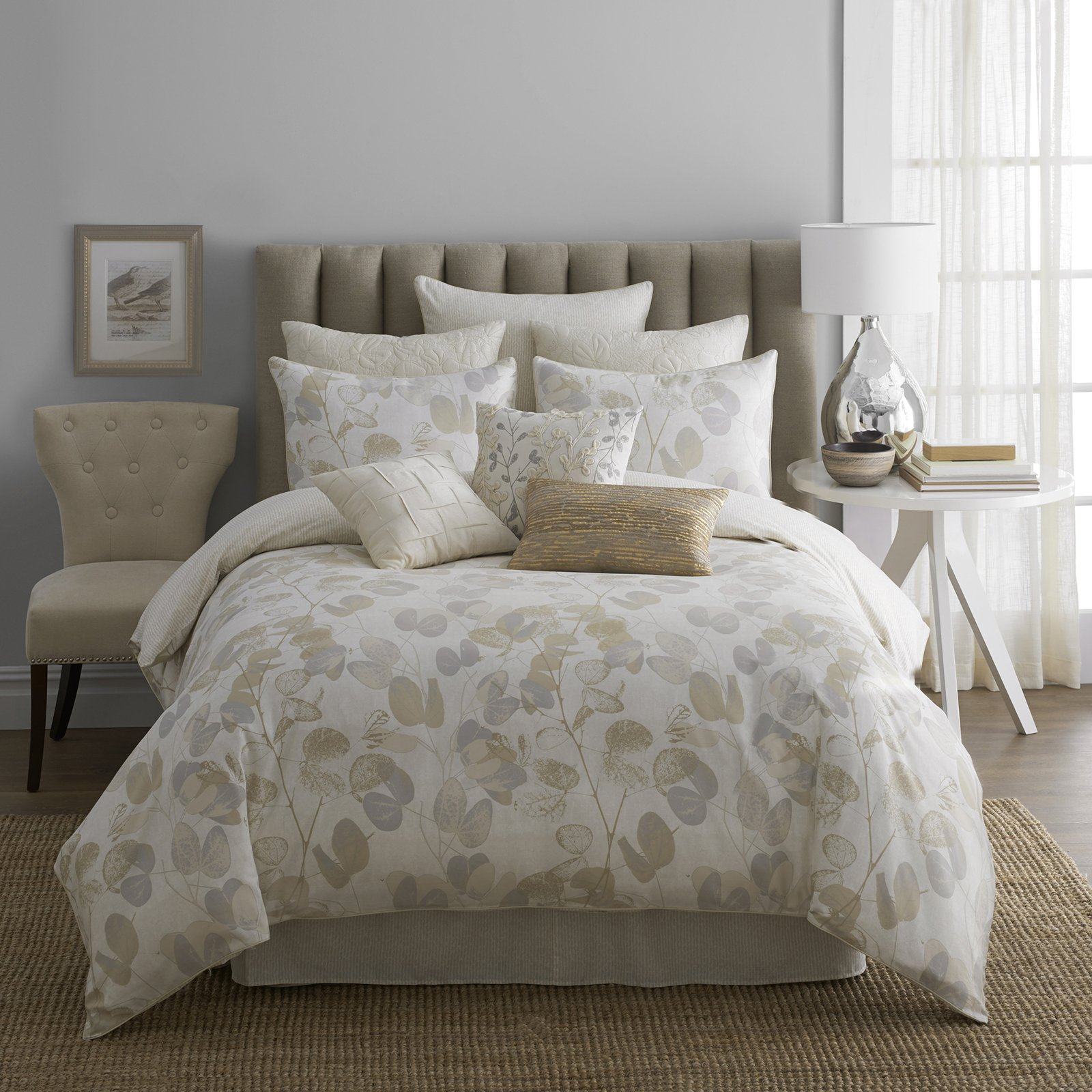 Comfy white comforter sets for charming bedroom ideas with white comforter sets queen