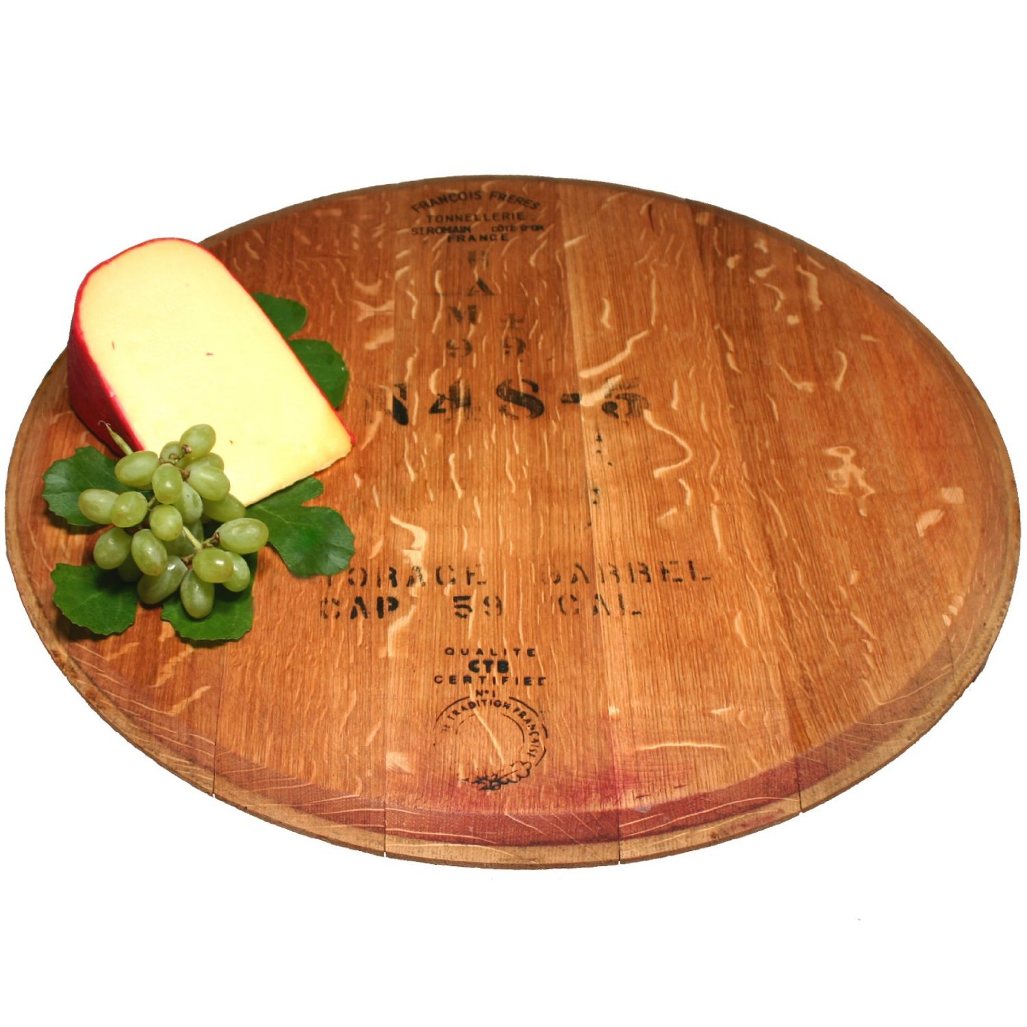 Comfy wine barrel lazy susan for furniture accessories ideas with personalized wine barrel lazy susan
