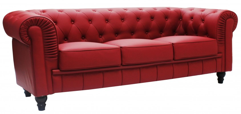 Cool Tufted Leather Sofa For Living Room Design With Tufted Leather Sectional Sofa