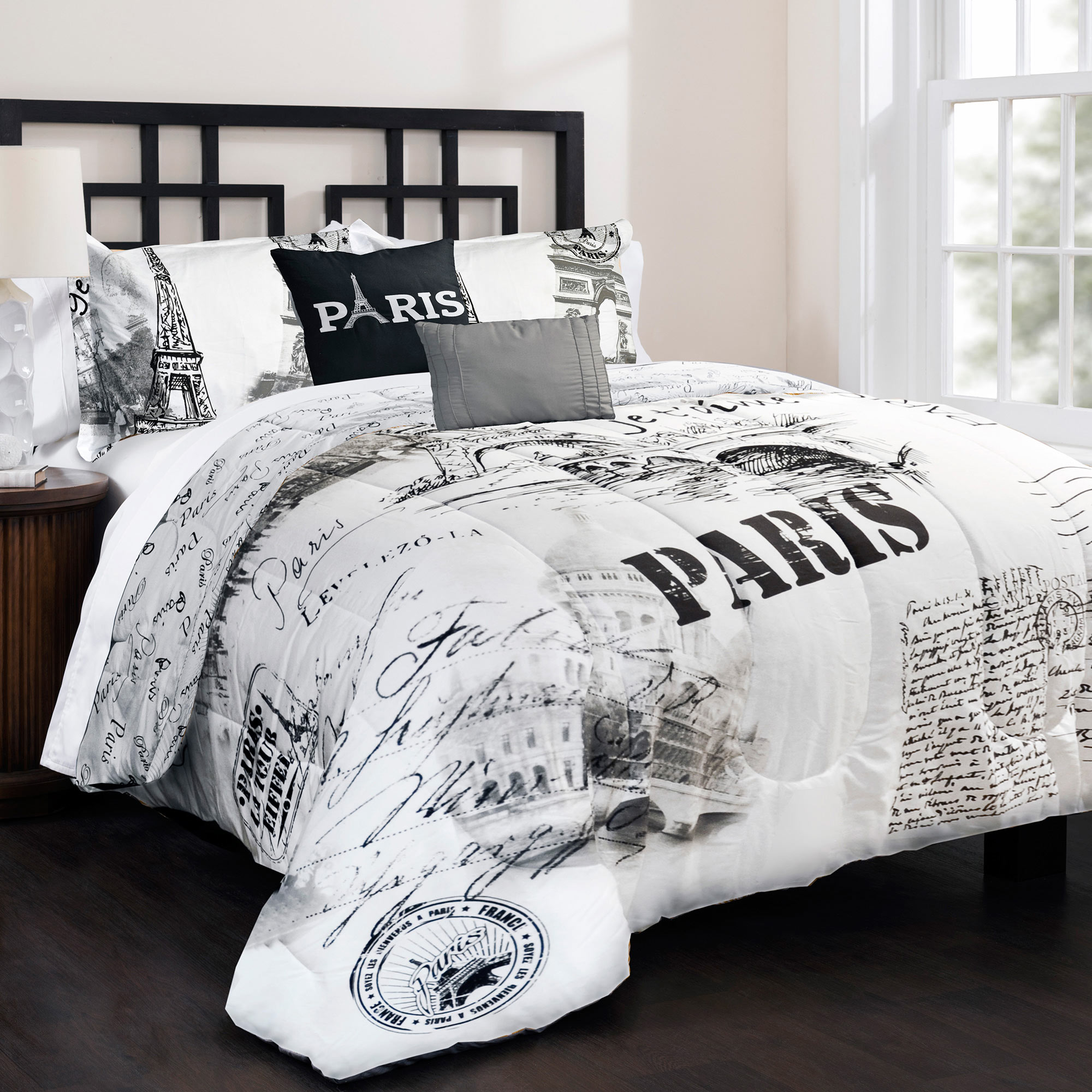 Cool white comforter sets for charming bedroom ideas with white comforter sets queen