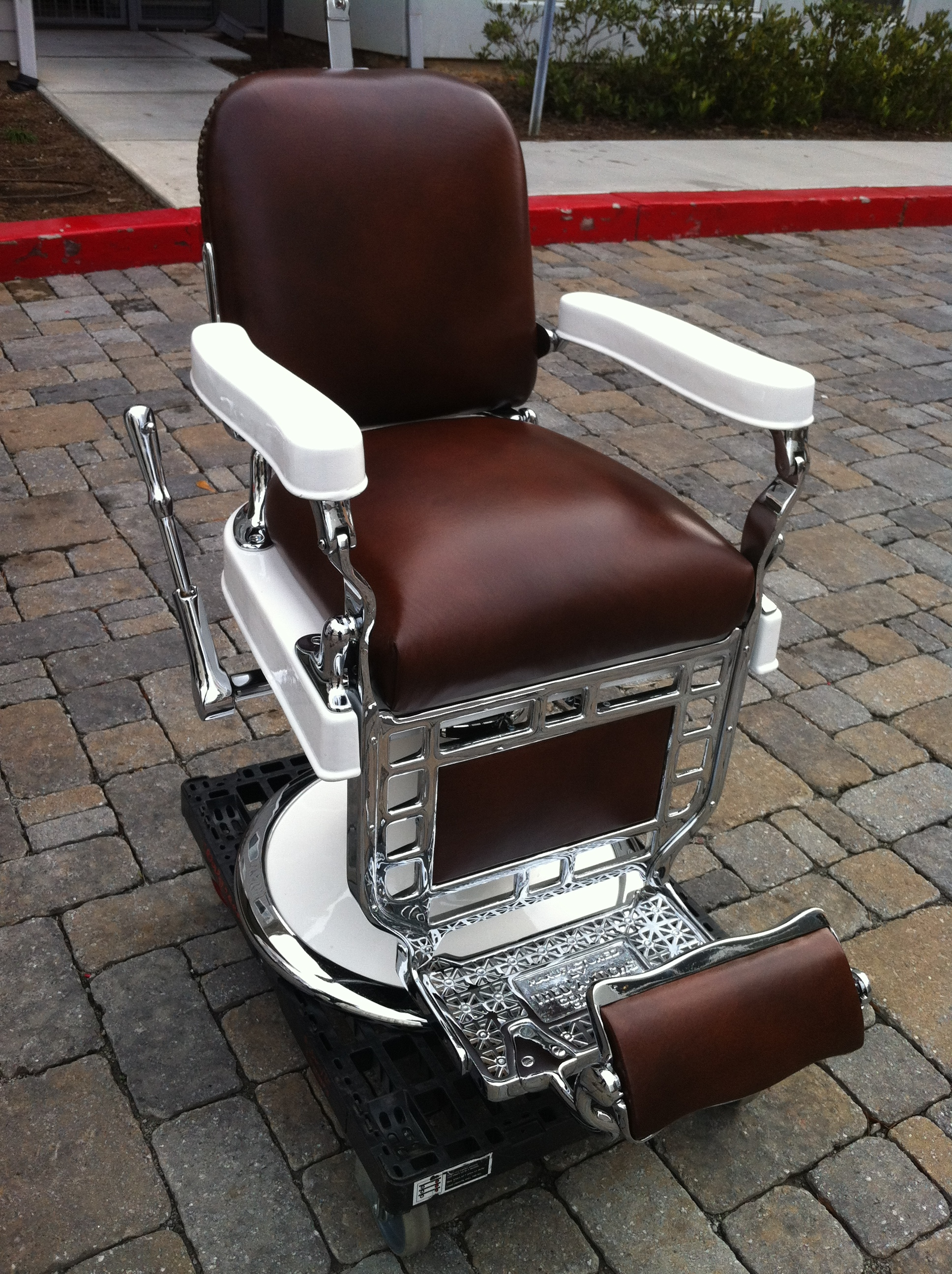 Barber Shop On Pinterest | Barber Chair, Barbers And Chairs in Belmont Barber Chairs For Sale -