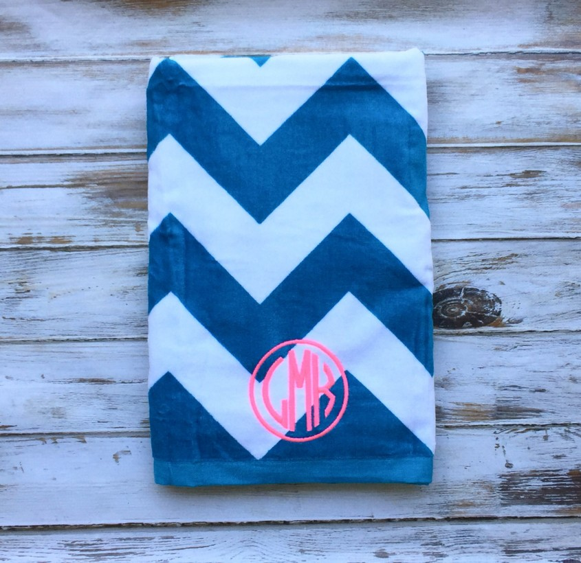 Cozy Monogrammed Beach Towels For Outdoor Ideas With Beach Towels Monogrammed