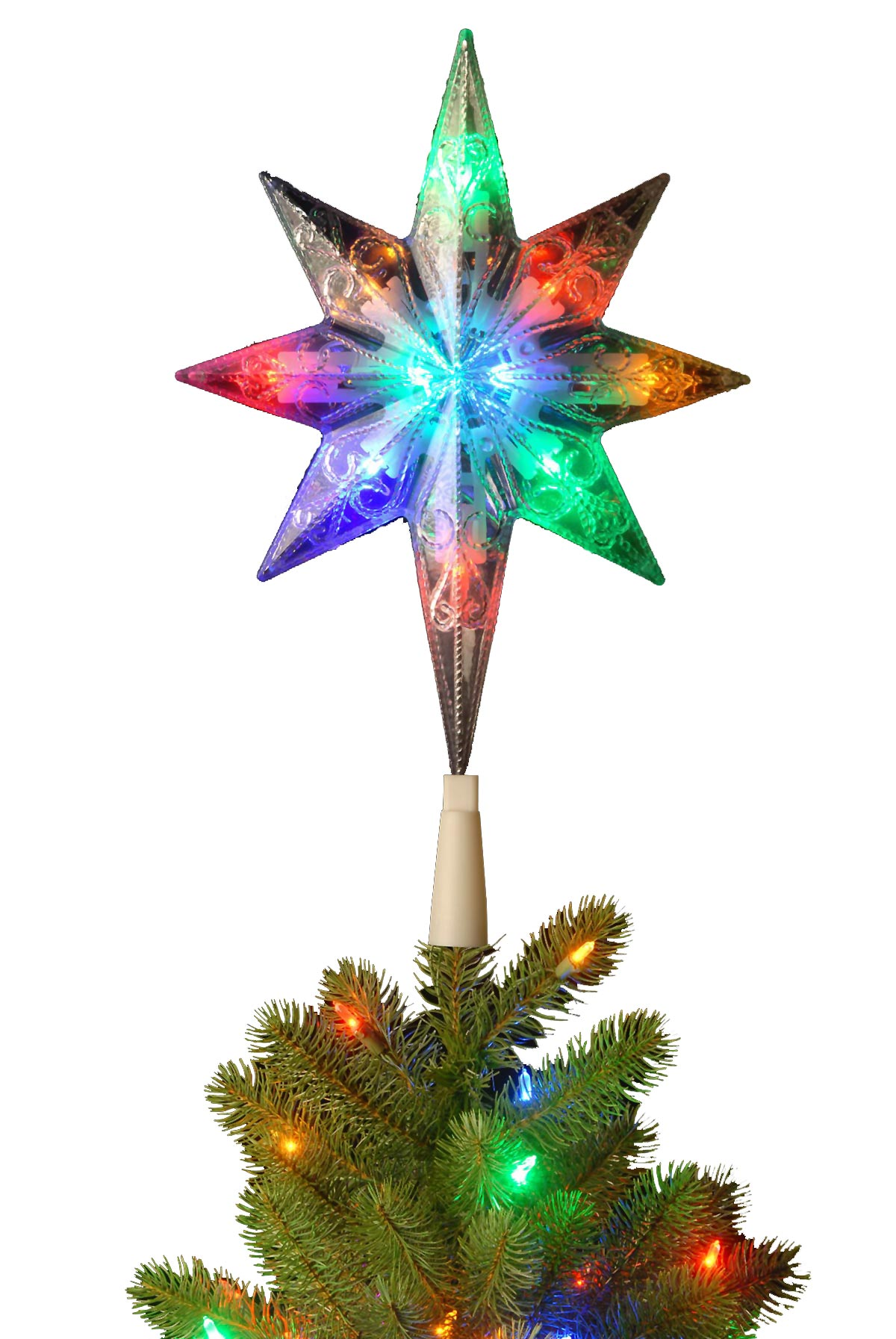 Cozy tree topper for home accessories ideas with christmas tree toppers