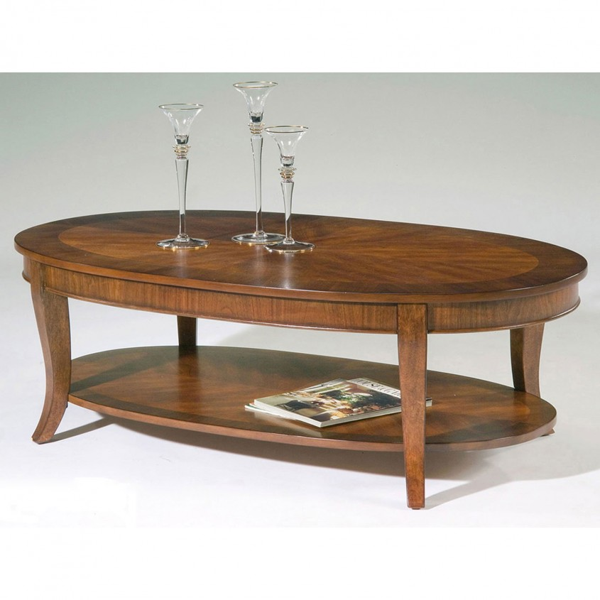 Creative Oval Coffee Table For Home Furniture With Oval Wood Coffee Table