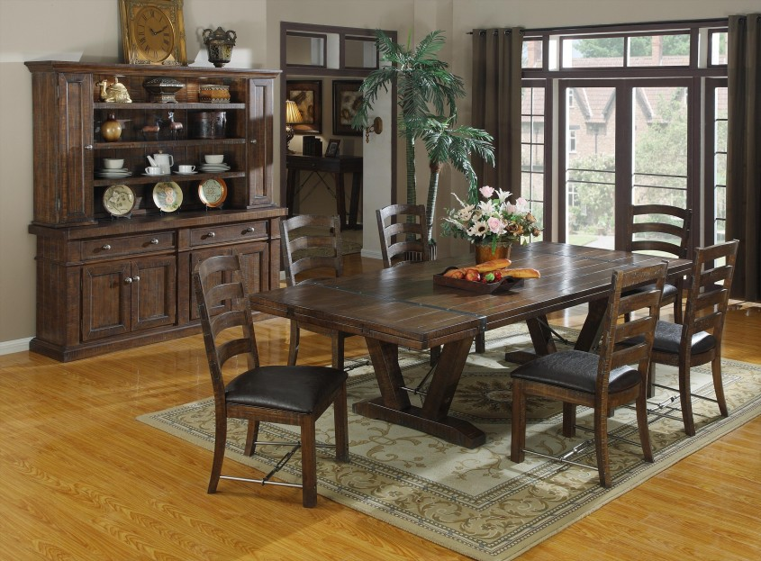 Cute Formal Dining Room Sets With Buffet And Ceiling Light For Home Design With Modern Formal Dining Room Sets