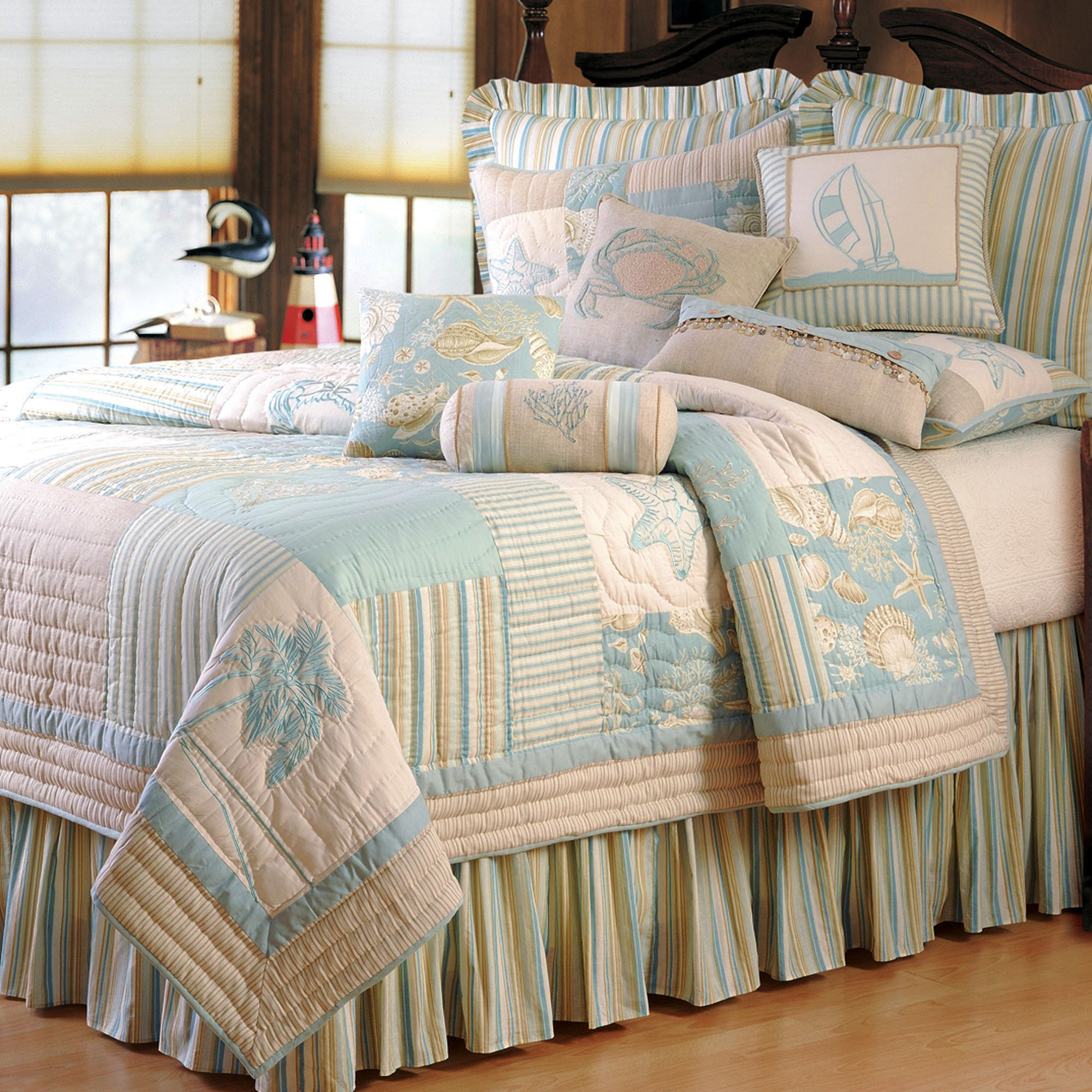 Cute king size quilts for modern bedroom design with king size quilt dimensions