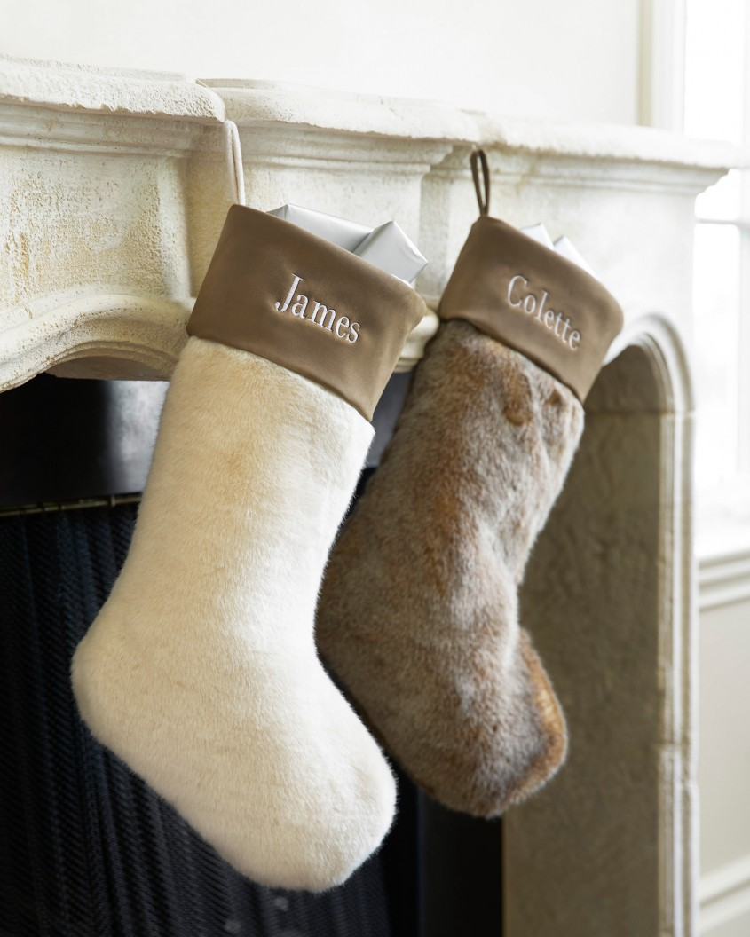 Cute Monogrammed Christmas Stockings For Christmas Decor Ideas With Monogram Christmas Stockings