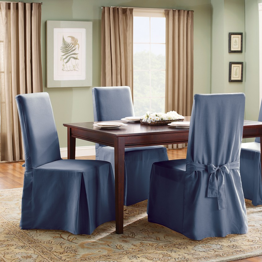 Dazzling Parson Chair Slipcover For Kitchen And Dining Room With Parsons Chair Slipcovers
