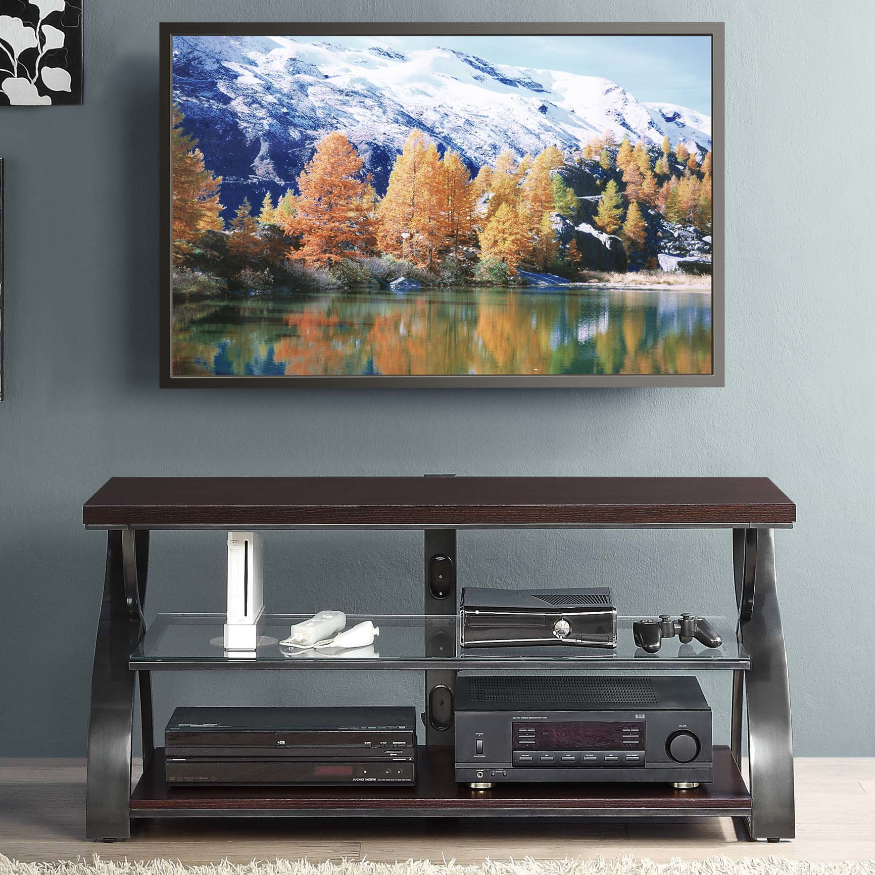 Dazzling whalen tv stand for home furniture design with whalen 3-in-1 tv stand