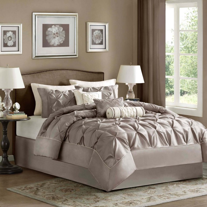 Dazzling White Comforter Sets For Charming Bedroom Ideas With White Comforter Sets Queen