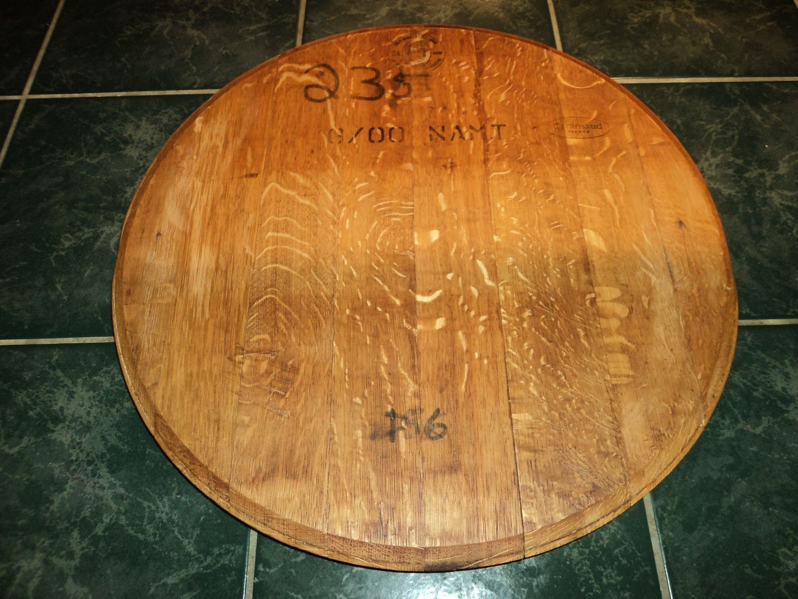 Dazzling wine barrel lazy susan for furniture accessories ideas with personalized wine barrel lazy susan