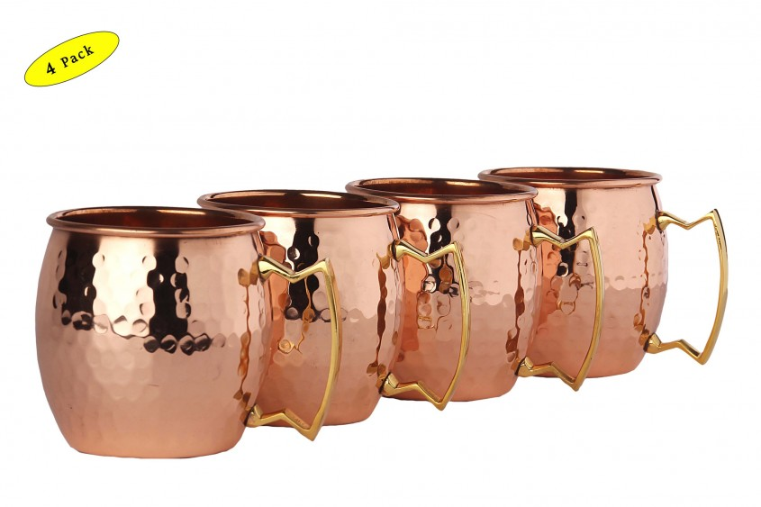 Elegant Hammered Copper Mugs For Unique Furniture With Hammered Copper Moscow Mule Mugs