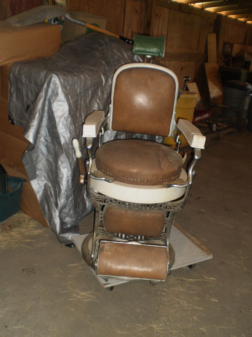 How Do You Find The Age Of An Antique Koken Barber Chair? We For The Most Awesome And Also Stunning Vintage Koken Barber Chair For Household