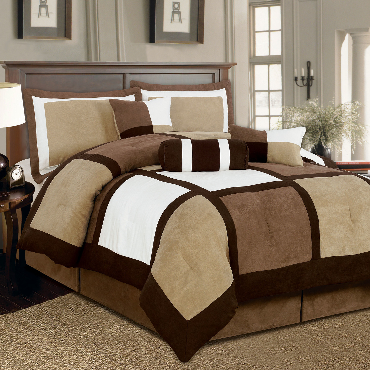 Excellent california king bedding for bedroom design with california king bed frame