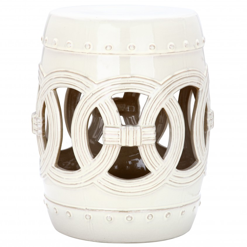 Excellent Garden Stool For Decorating Interior Ideas With White Garden Stool
