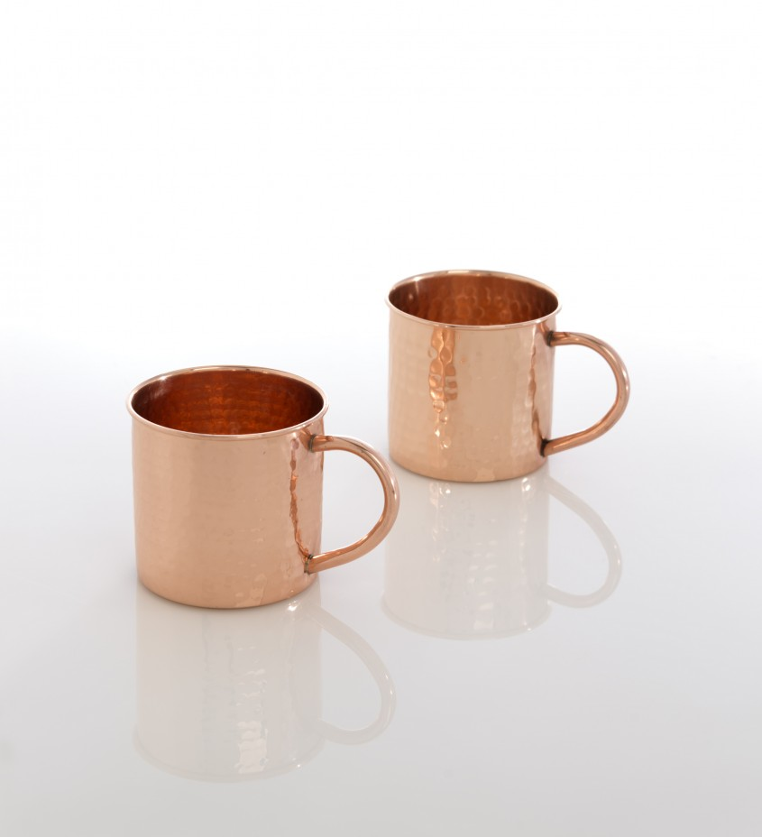 Excellent Hammered Copper Mugs For Unique Furniture With Hammered Copper Moscow Mule Mugs