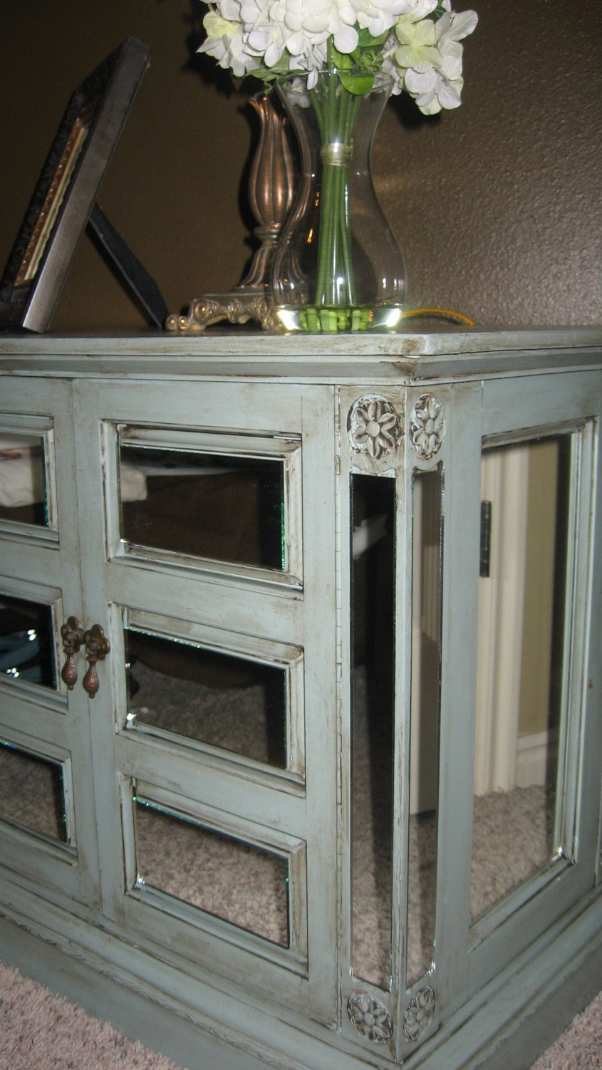 Excellent Mirror Nightstand For Bedroom Furniture With Mirrored Nightstand