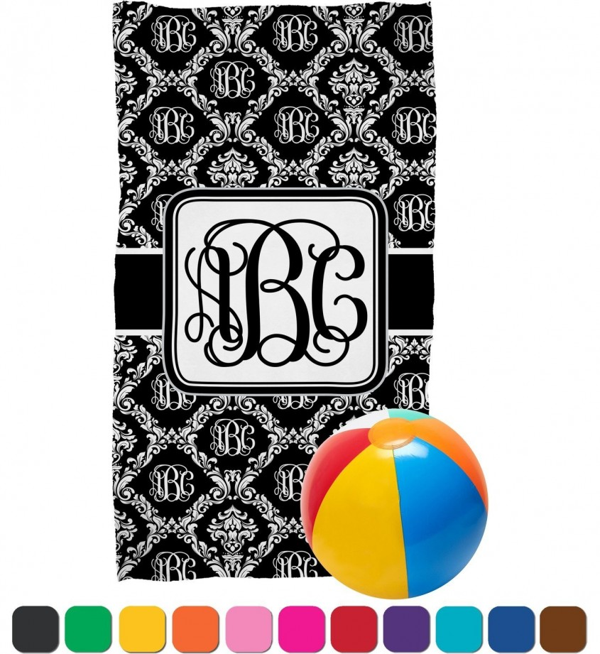 Excellent Monogrammed Beach Towels For Outdoor Ideas With Beach Towels Monogrammed