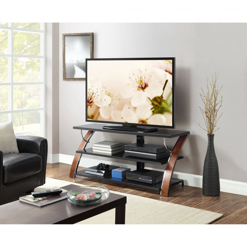 Excellent Whalen Tv Stand For Furniture Accessories Design With Whalen 3 In 1 Tv Stand