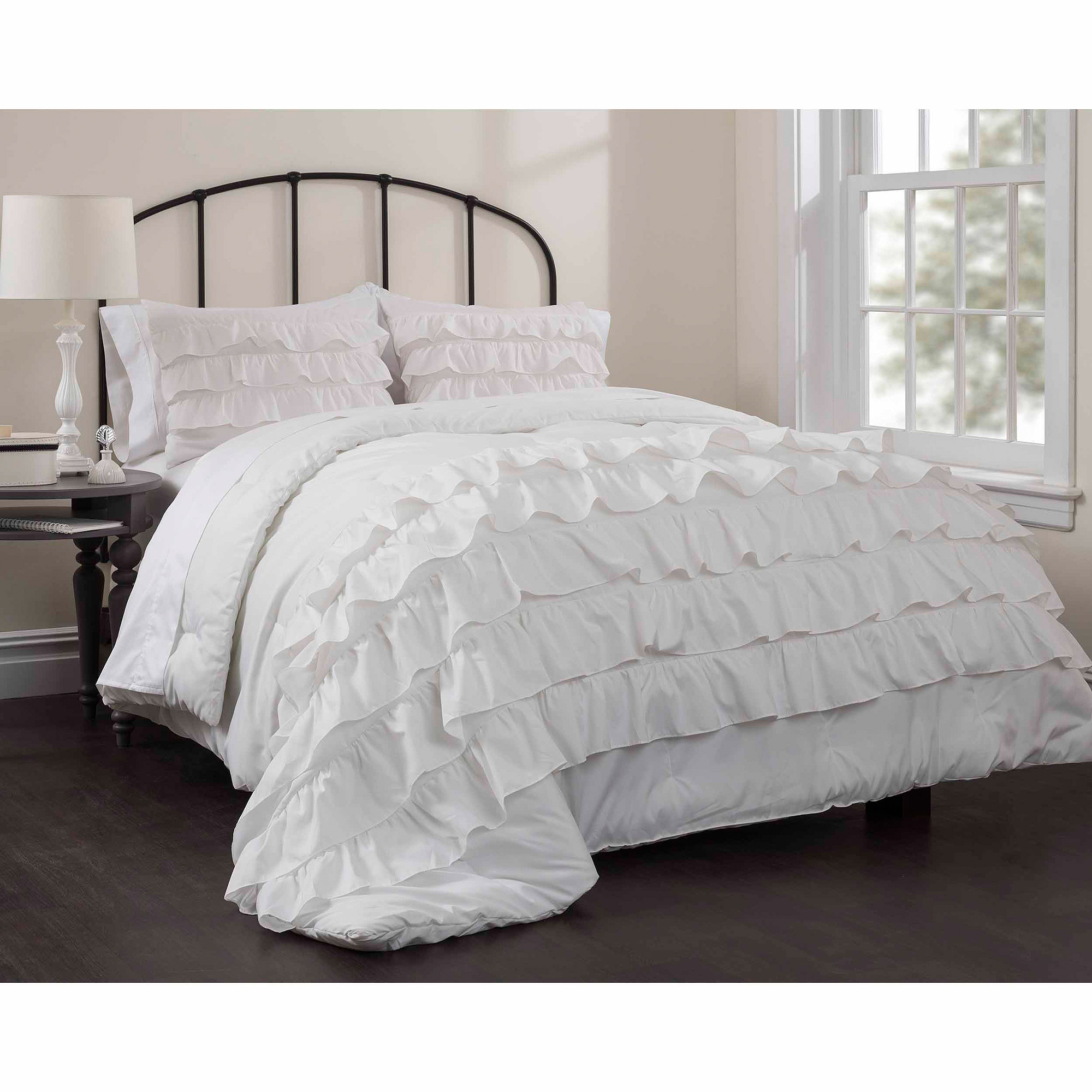 Excellent white comforter sets for charming bedroom ideas with white comforter sets queen
