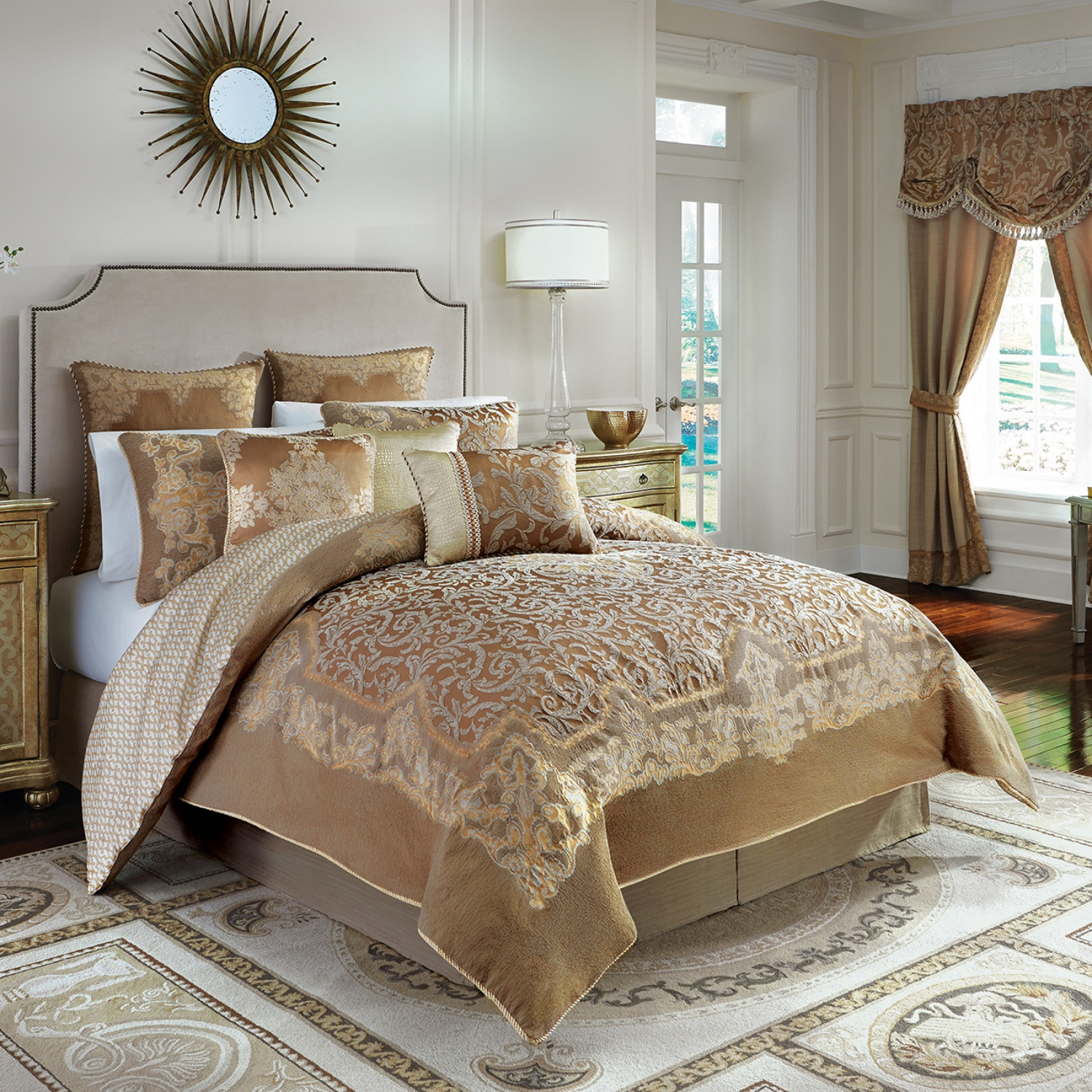 Exciting california king bedding for bedroom design with california king bed frame