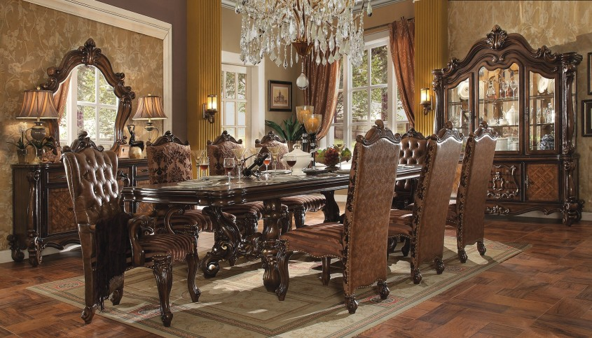 Exciting Formal Dining Room Sets With Buffet And Ceiling Light For Dining Room With Modern Formal Dining Room Sets