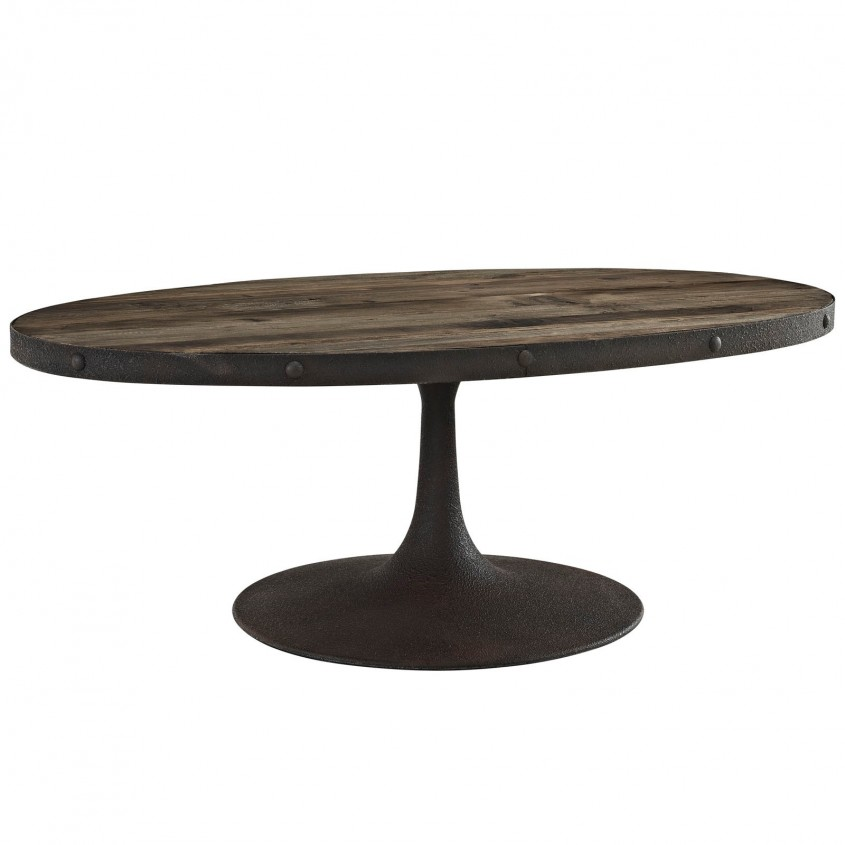 Exciting Oval Coffee Table For Home Furniture With Oval Wood Coffee Table