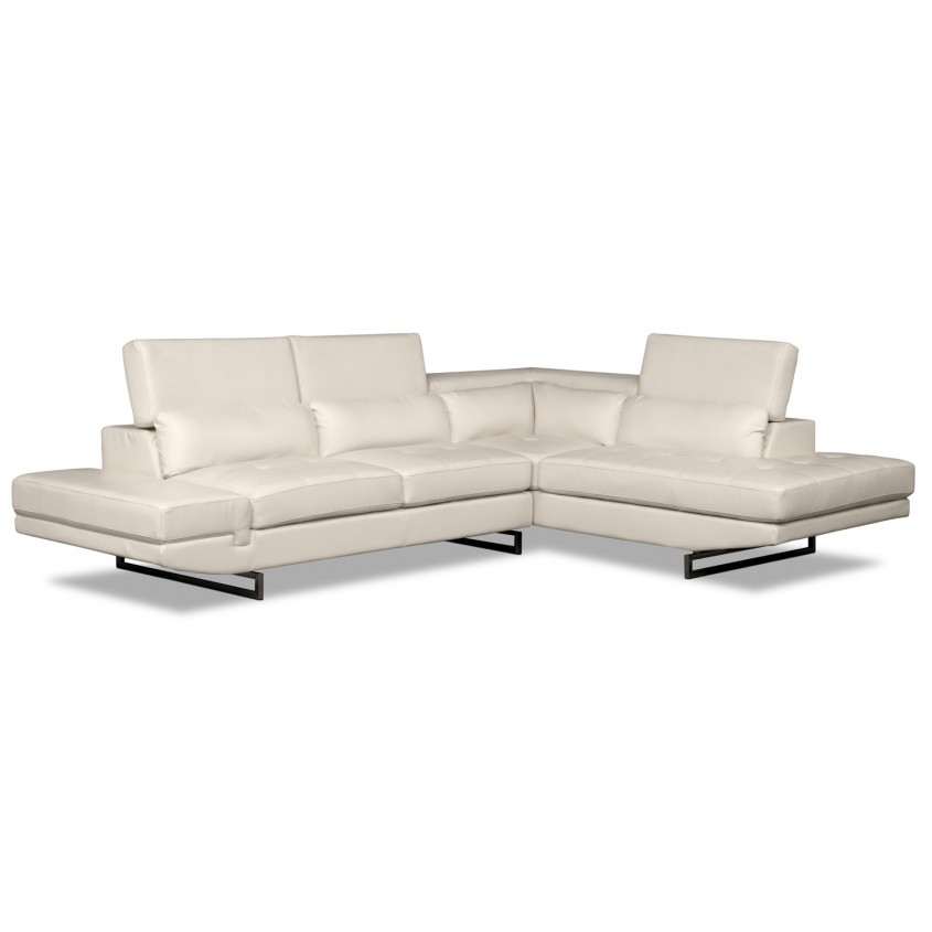 Madrid White 2 PC Sectional DC 1622935 V1