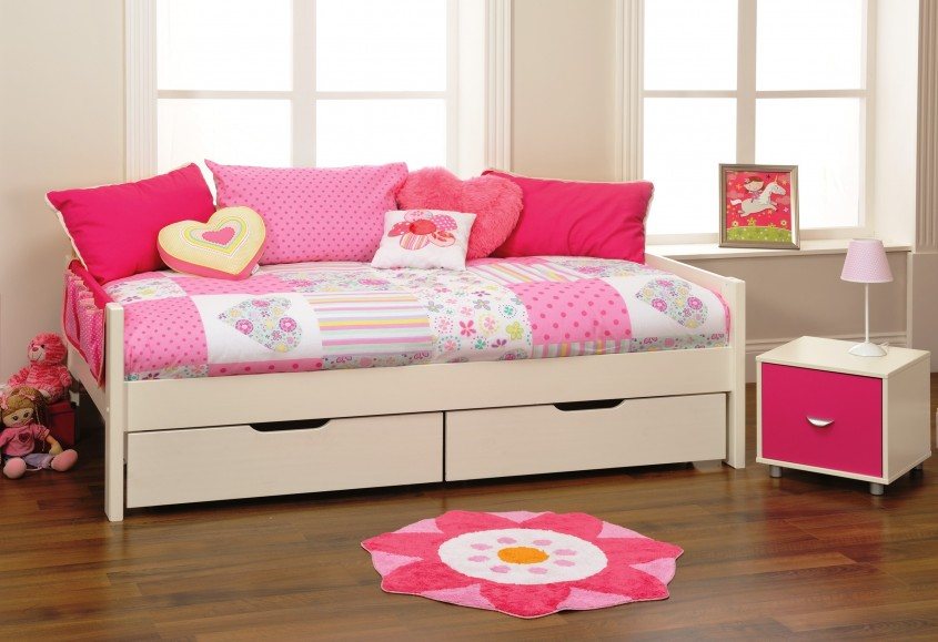 Extraordinary Daybed With Storage For Small Bedroom Design With Full Size Daybed With Storage