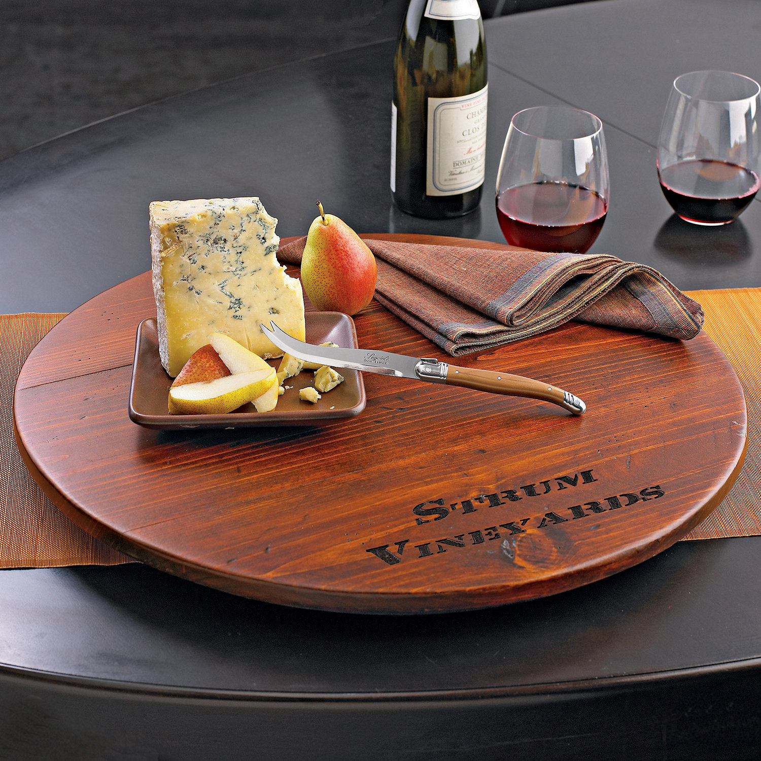 Extraordinary wine barrel lazy susan for furniture accessories ideas with personalized wine barrel lazy susan