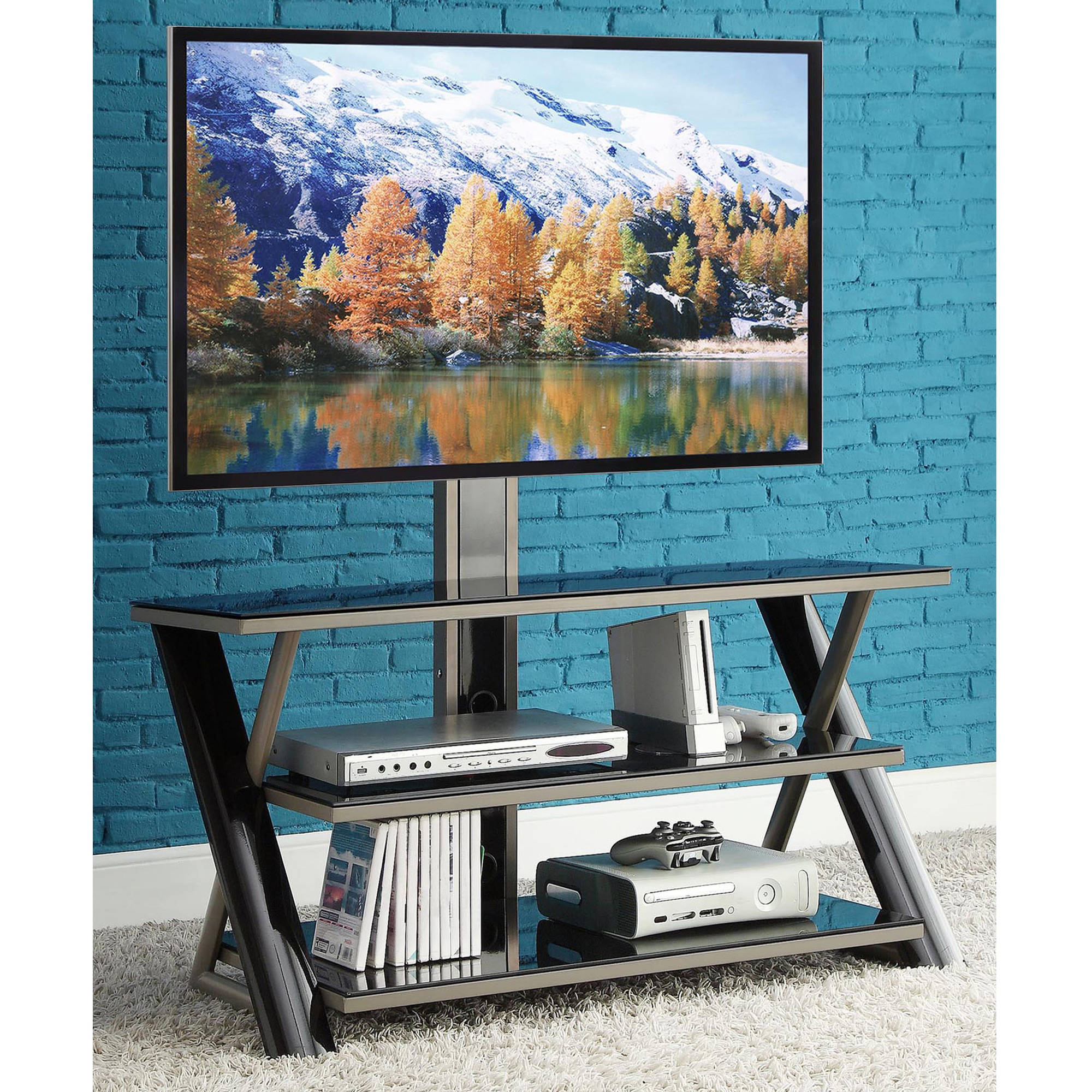 Fantastic whalen tv stand for home furniture design with whalen 3-in-1 tv stand