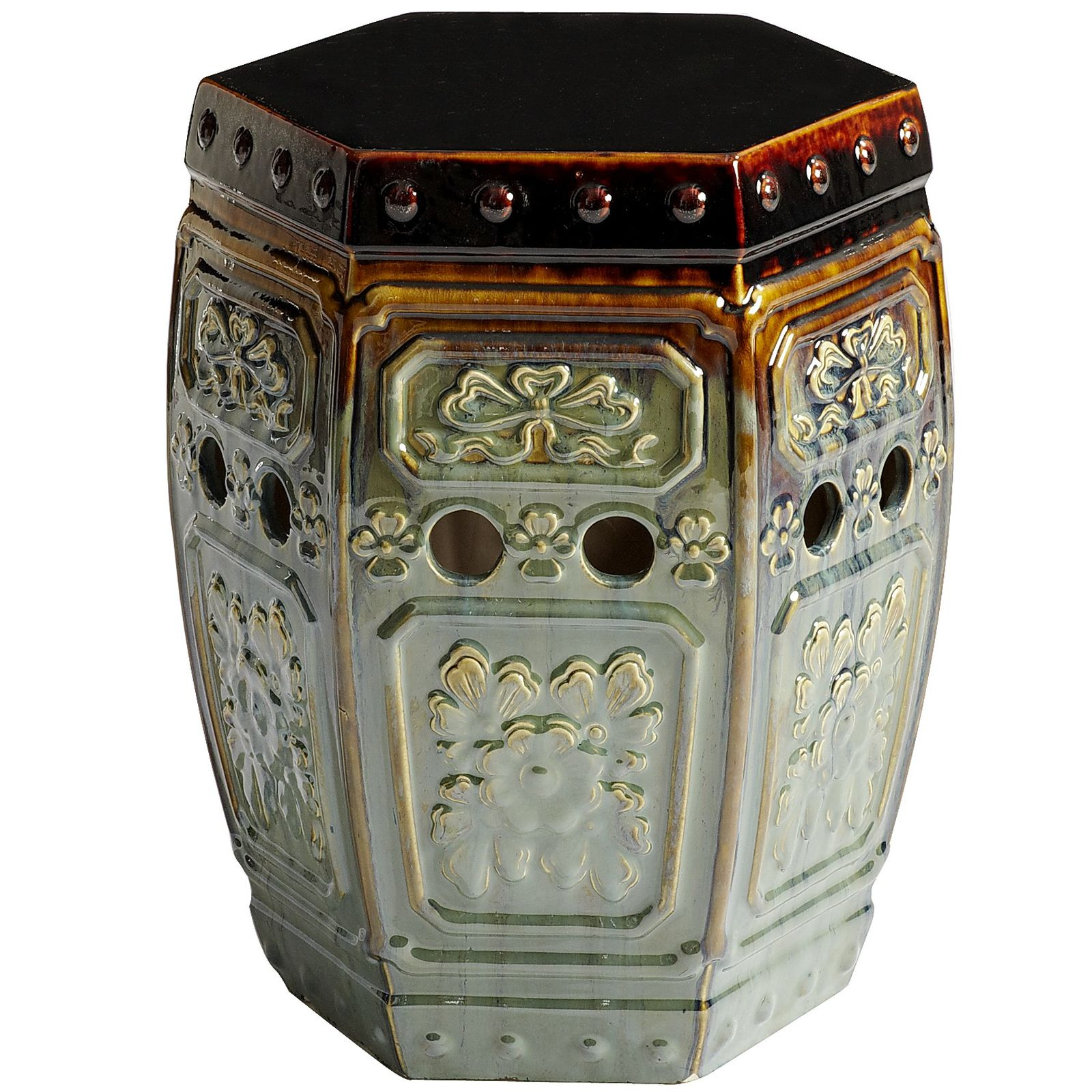 Fascinating garden stool for decorating interior ideas with ceramic garden stool