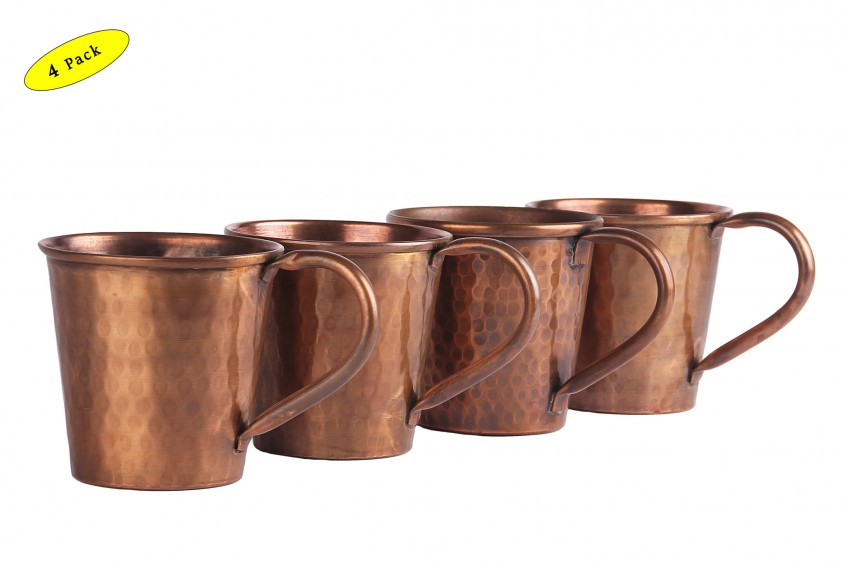Fascinating Hammered Copper Mugs For Unique Furniture With Hammered Copper Moscow Mule Mugs