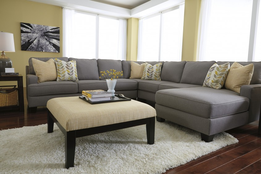 Fresh White Leather Sectional  For Small Spaces Living Room With White Leather Sectional Sofa