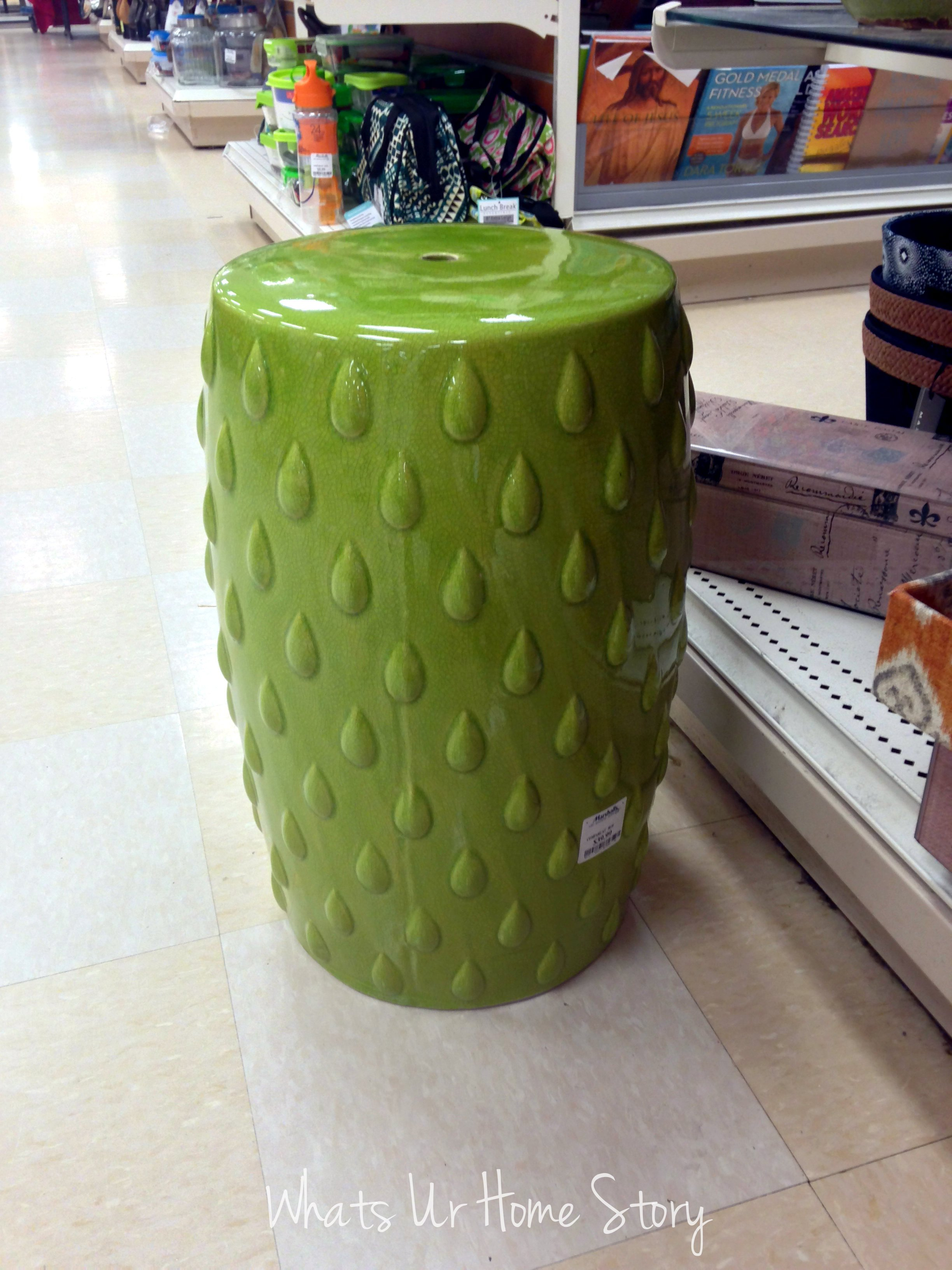 Gorgeous garden stool for decorating interior ideas with ceramic garden stool