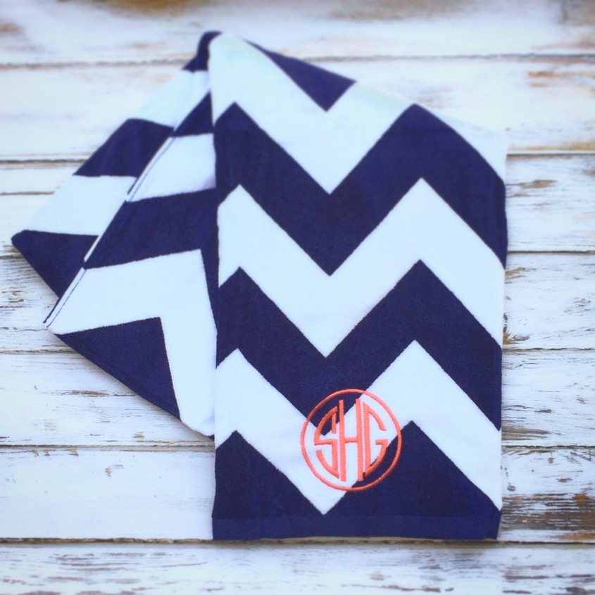 Gorgeous Monogrammed Beach Towels For Outdoor Ideas With Beach Towels Monogrammed