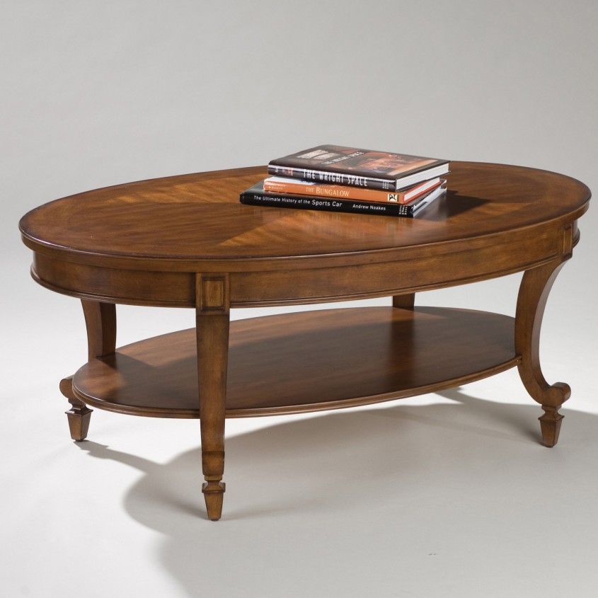 Gorgeous Oval Coffee Table For Home Furniture With Oval Wood Coffee Table