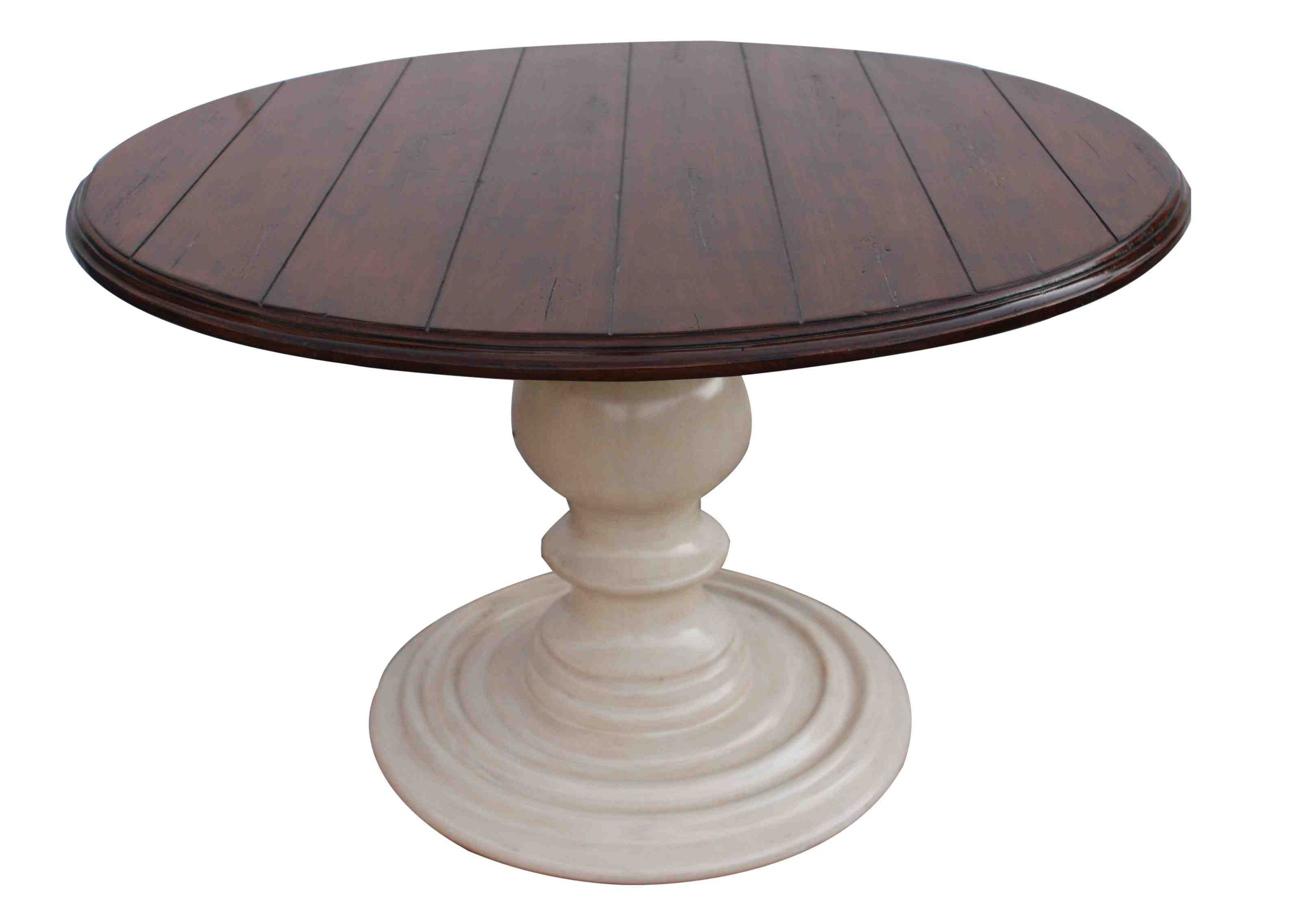 Gorgeous pedestal dining table for dining room with round pedestal dining table