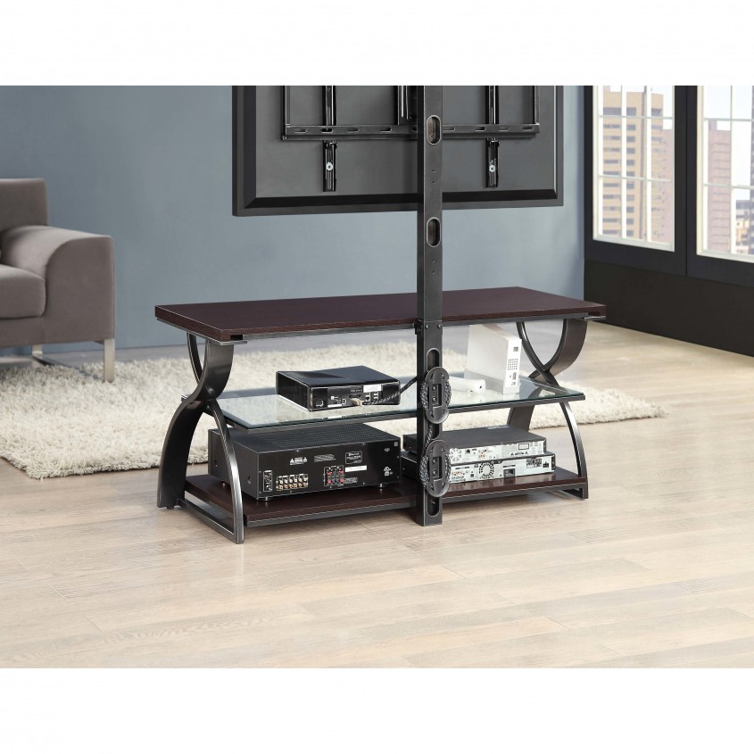 Gorgeous Whalen Tv Stand For Home Furniture Design With Whalen 3 In 1 Tv Stand
