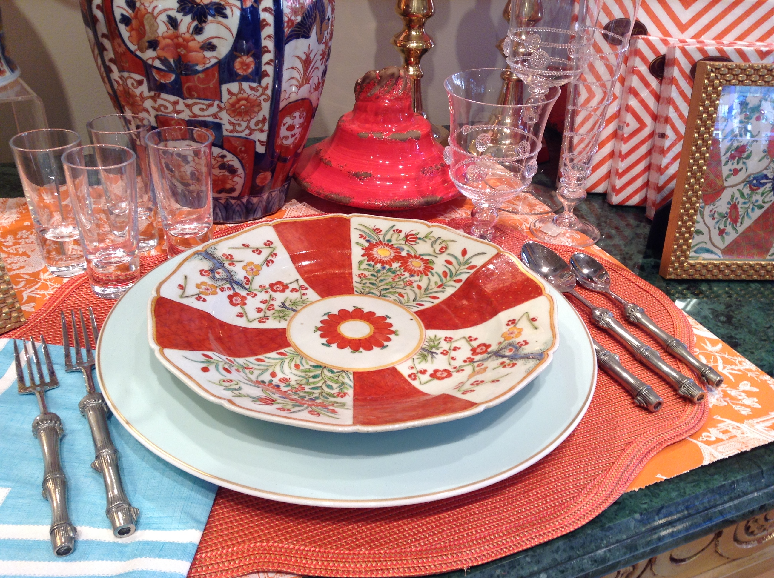 Great caspari with plates and napkins collection for furniture accessories with tina caspary