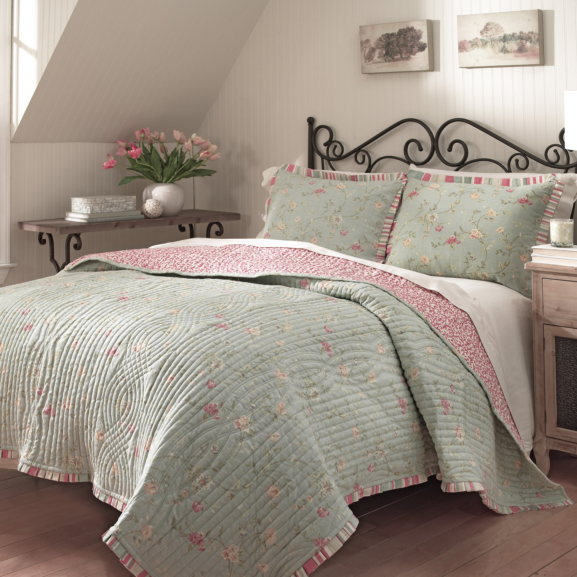 Great coverlets for luxury bedroom ideas with matelasse coverlet