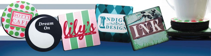 Great Personalized Coasters For Furniture Accessories With Personalized Drink Coasters