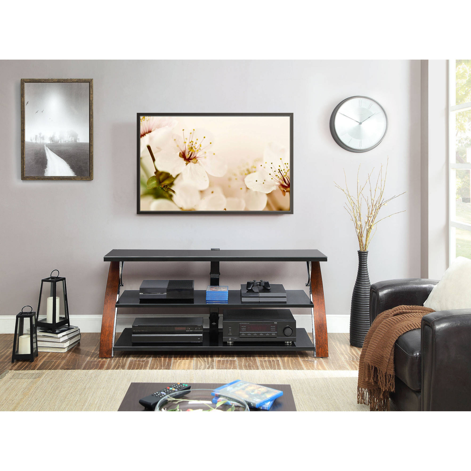 Incredible whalen tv stand for home furniture design with whalen 3-in-1 tv stand