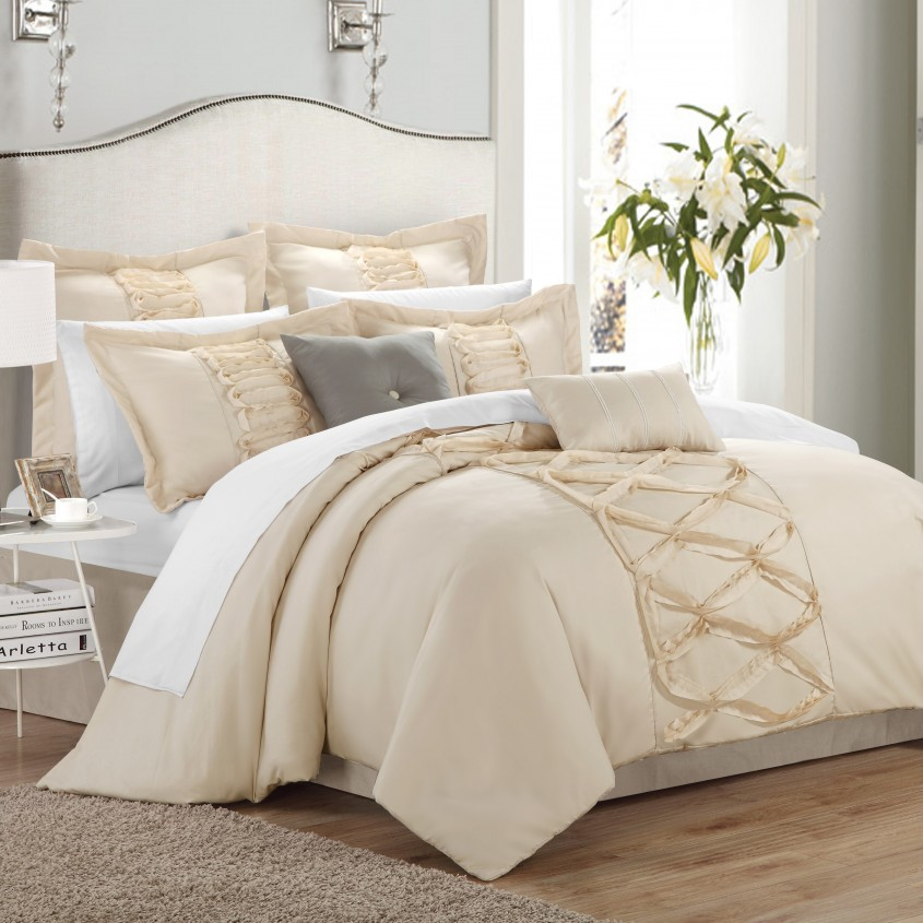 Incredible White Comforter Sets For Charming Bedroom Ideas With White Comforter Sets Queen