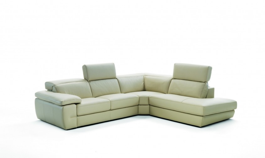 Incredible White Leather Sectional  For Small Spaces Living Room With White Leather Sectional Sofa