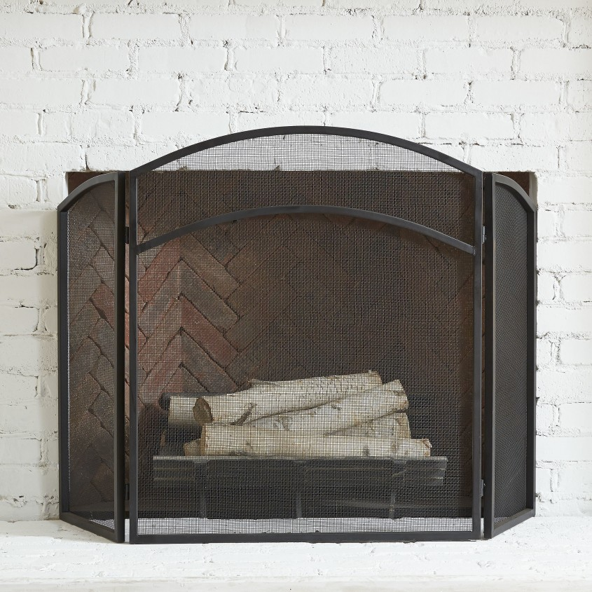 Inspiring Fireplace Screen For Home Furniture With Decorative Fireplace Screens